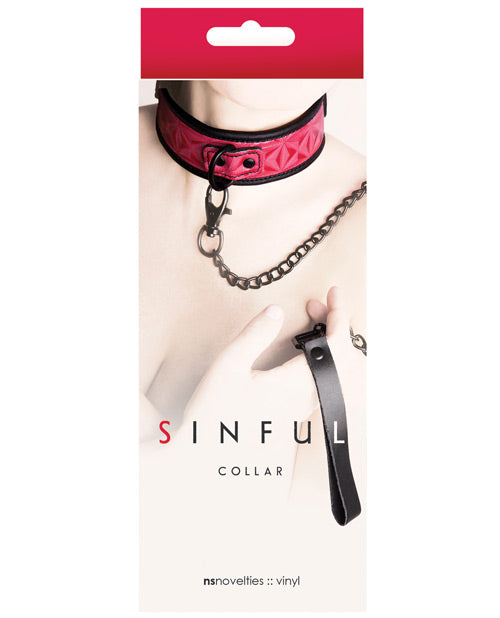 Sinful Collar - Pink