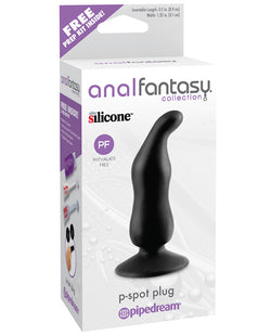 Anal Fantasy Collection P Spot Plug - Black