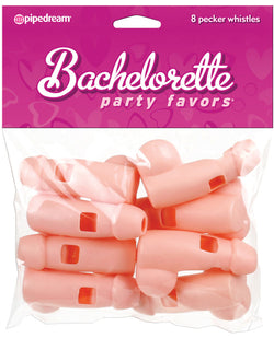 Bachelorette Party Favors Whistles - Pack Of 8