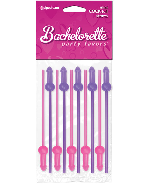 Bachelorette Party Favors Mini Cock-tail Straws