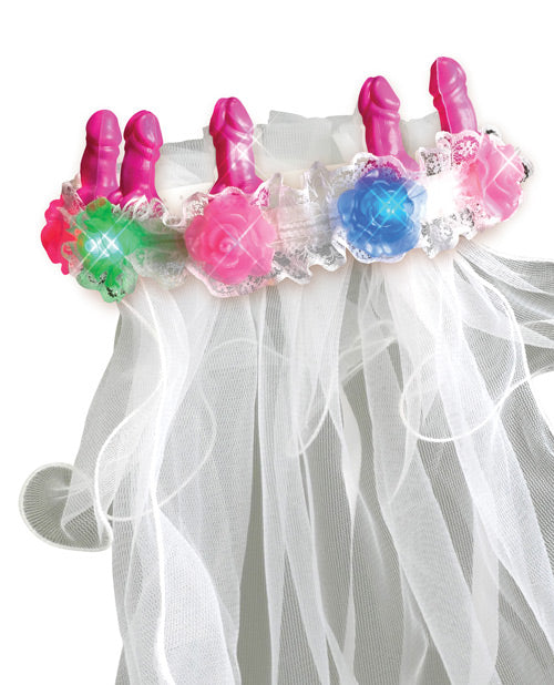 Bachelorette Party Favors Light Up Pecker Veil