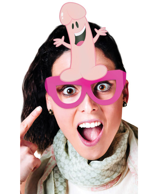 Bachelorette Party Favors Party Pecker Glasses - Pack Of 8