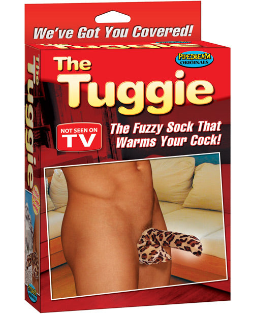 The Tuggie - The Fuzzy Sock That Warms Your Cock