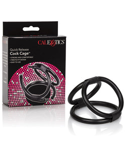 Quick Release Cock Cage Triple Helix Enhancer