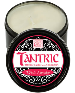 Tantric Soy Candle W-pheromones - White Lavender