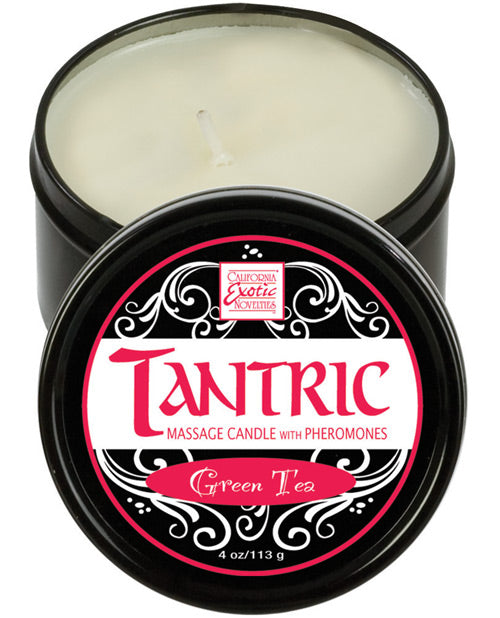 Tantric Soy Candle W-pheromones - Green Tea