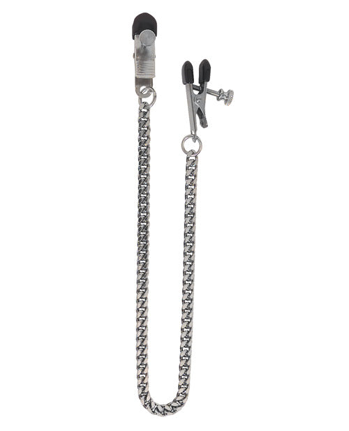 Spartacus Adjustable Broad Tip Clamps - Jewel Chain