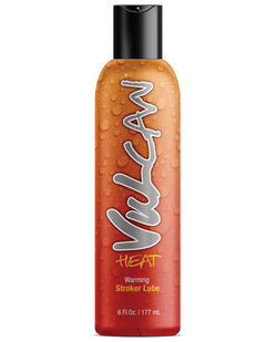 Vulcan Heat Warming Stroker Lube - 6 Oz