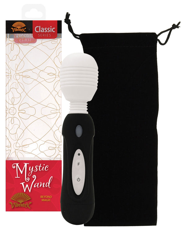 Vibratex Mystic Wand Massager - Black