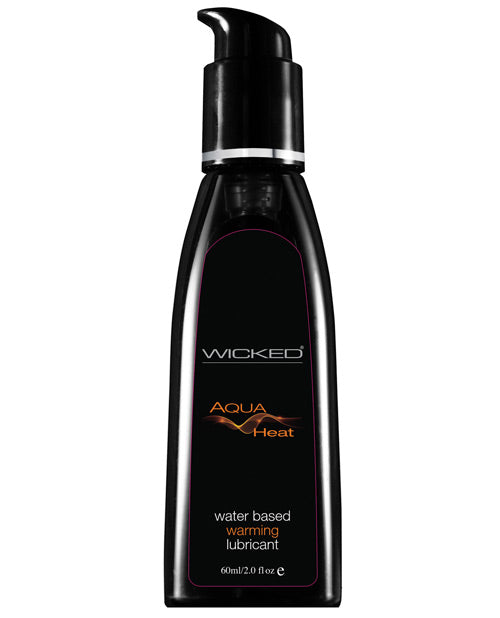 Wicked Sensual Care Heat Warming Sensation Waterbased Lubricant - 2 Oz