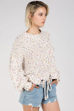 POL - DOTTED BOXY SWEATER
