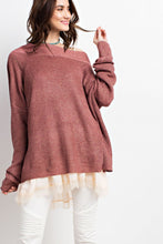 OFF SHOULDER BOXY TUNIC SWEATER-TOPS-Lulu-Bela