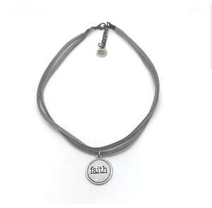 SHORT DOUBLE CHOKER NECKLACE - LOVE