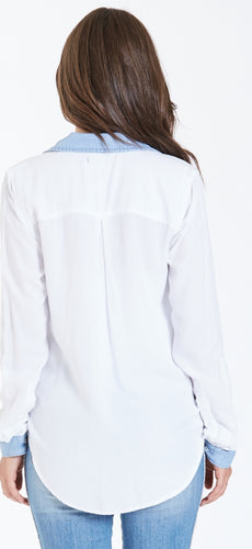 Dear John Leilani Tencel Mix Shirt