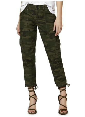 SANCTUARY TERRAIN CROP - CAMO-BOTTOMS-Lulu-Bela
