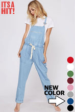 DENIM OVERALLS - LIGHT DENIM