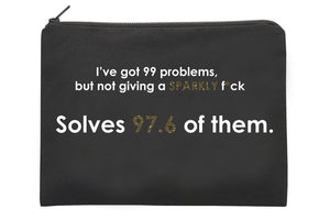 MOTHER TRUCKER - 99 PROBLEMS POUCH