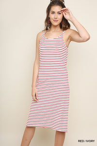 UMGEE STRIPE DRESS