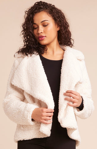 JACK - SPEAK NOW SHERPA JACKET