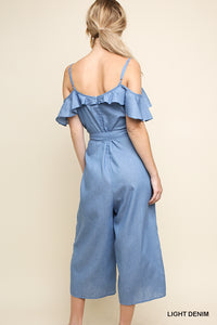 UMGEE DENIM JUMPSUIT