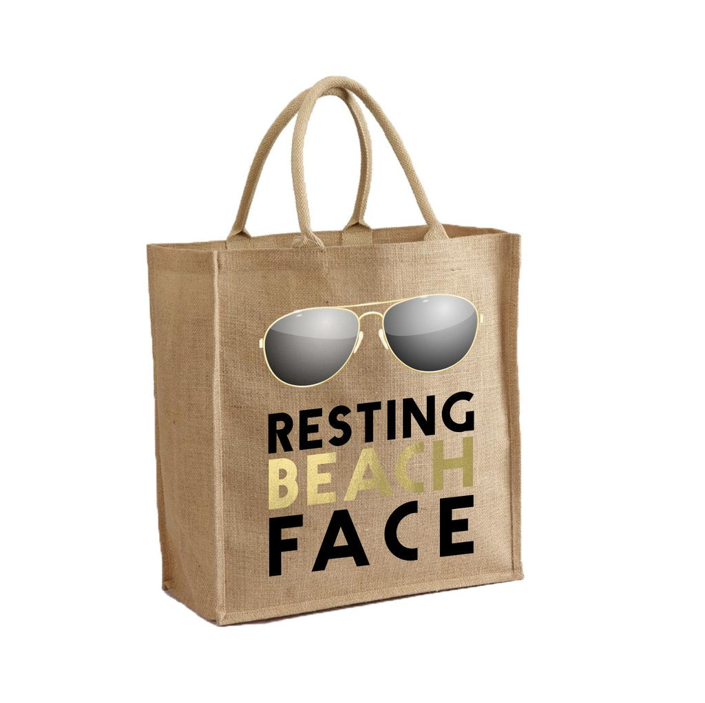 MOTHER TRUCKER - RESTING BEACH FACE TOTE