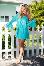 UNION OF ANGELS ZULIET DRESS - TURQUOISE