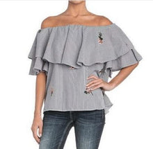 MISS ME - OFF SHOULDER TOP