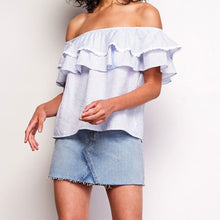 BB DAKOTA  - HAYES OFF SHOULDER TOP
