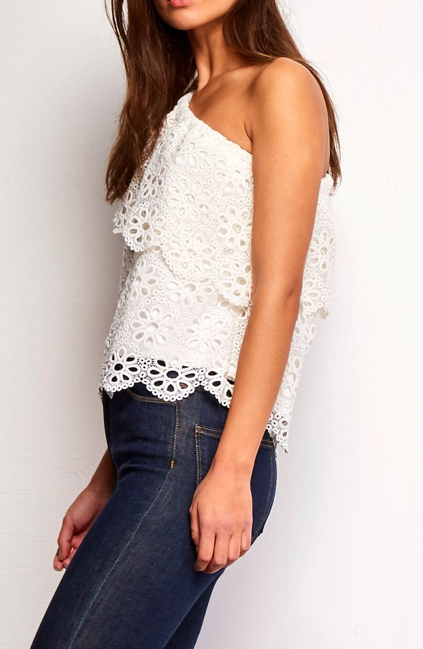 BB DAKOTA - LOLITA EYELET TOP
