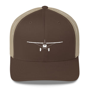 """Full Frontal"" Old School Trucker Cap"