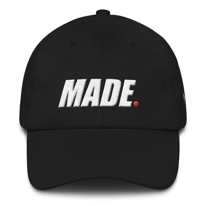 Made Dad Hat, Dad hat with Made Logo, Made Media Tv dad hat