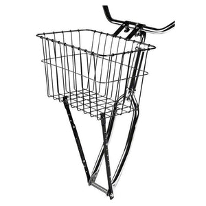 Gloss Black Front Basket with Adjustable Legs