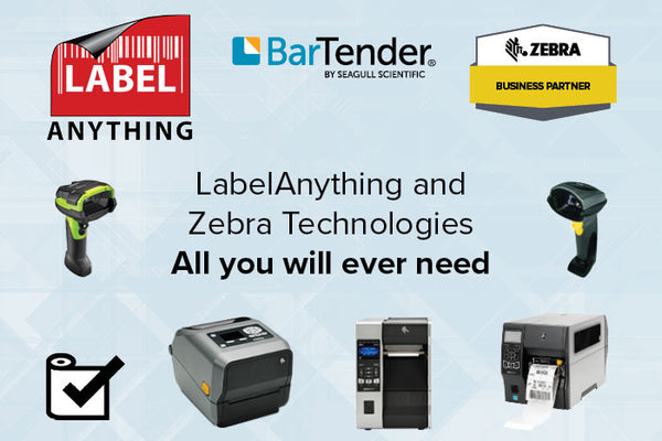 LabelAnything and Zebra Technologies is all you will ever need