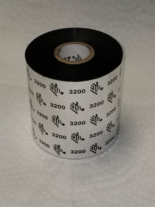 "03200BK08945 3.5"" wide Wax/Resin for tabletop printer, 2 rolls per case, priced per case.-Printer-Specials"