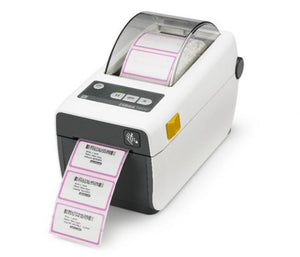 ZD410 printer, healthcare model, 300 dpi with 802.11ac and Bluetooth 4.0 connectivity