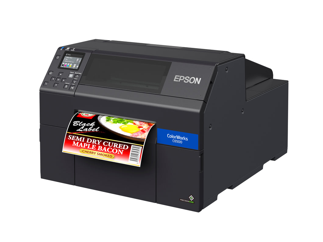 ColorWorks CW-C6500A Color Inkjet Label Printer with Auto Cutter