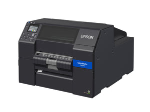 ColorWorks CW-C6500P Color Inkjet Label Printer with Peel-and-Present