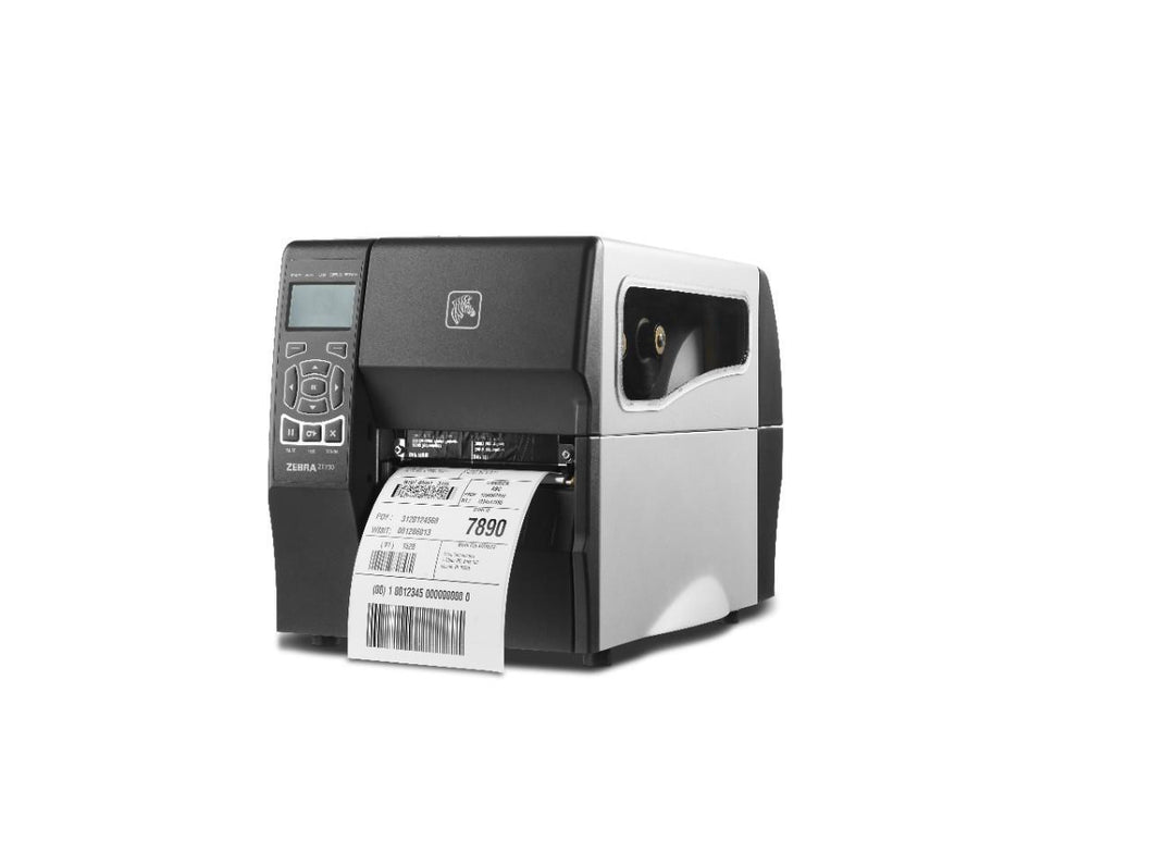 Standard ZT230 with Thermal Transfer, 8 dot/mm (203 dpi), Peel-Printer-Specials
