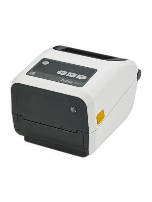 ZD420 printer, healthcare model, RIBBON CARTRIDGE printer, 300 dpi with 802.11ac and Bluetooth 4.1 connectivity
