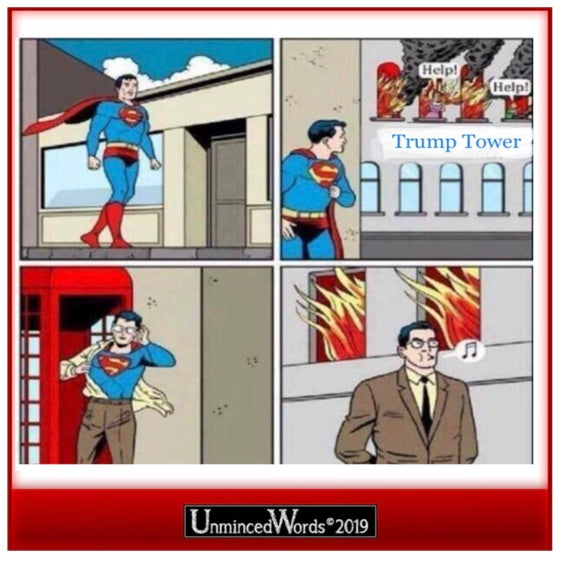 Superman's dilemma resolved!
