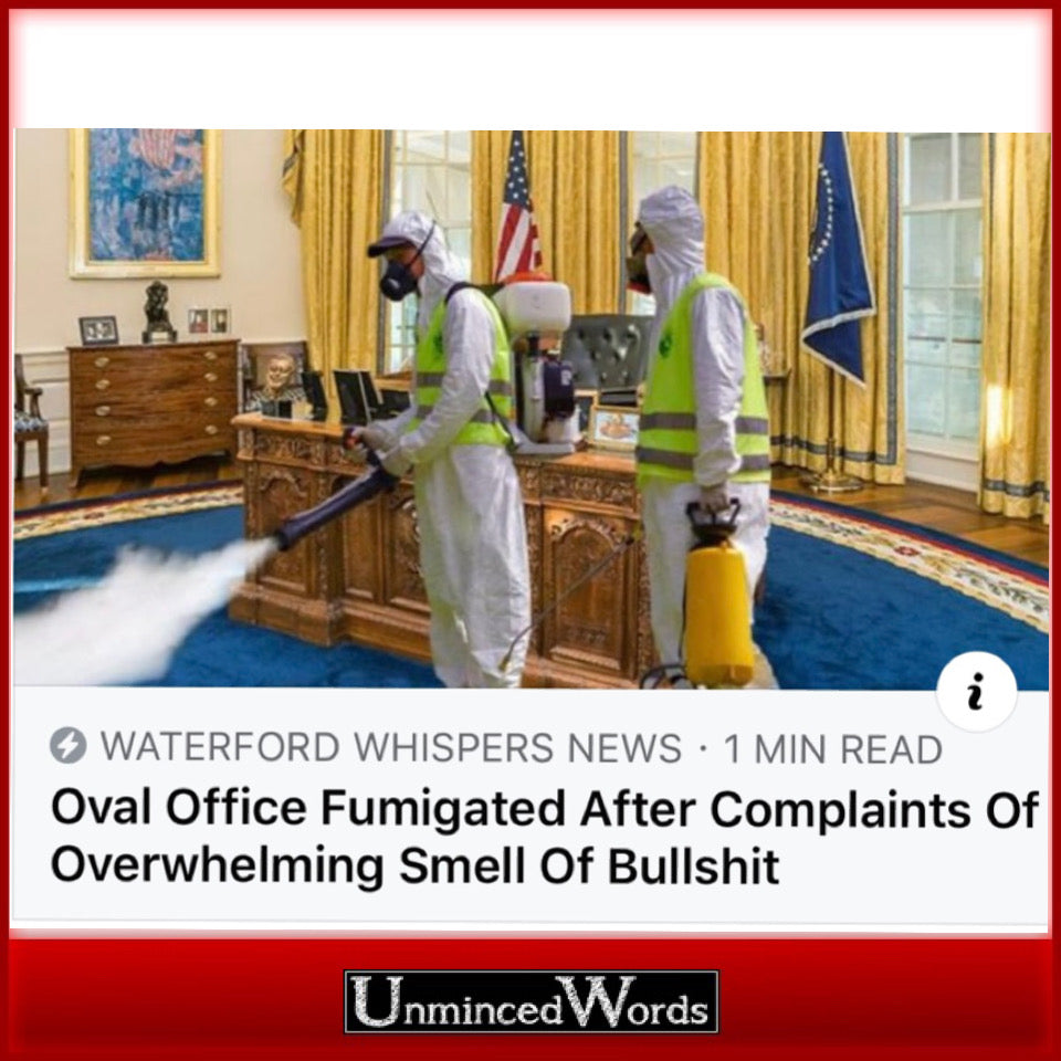 Oval Office fumigation details