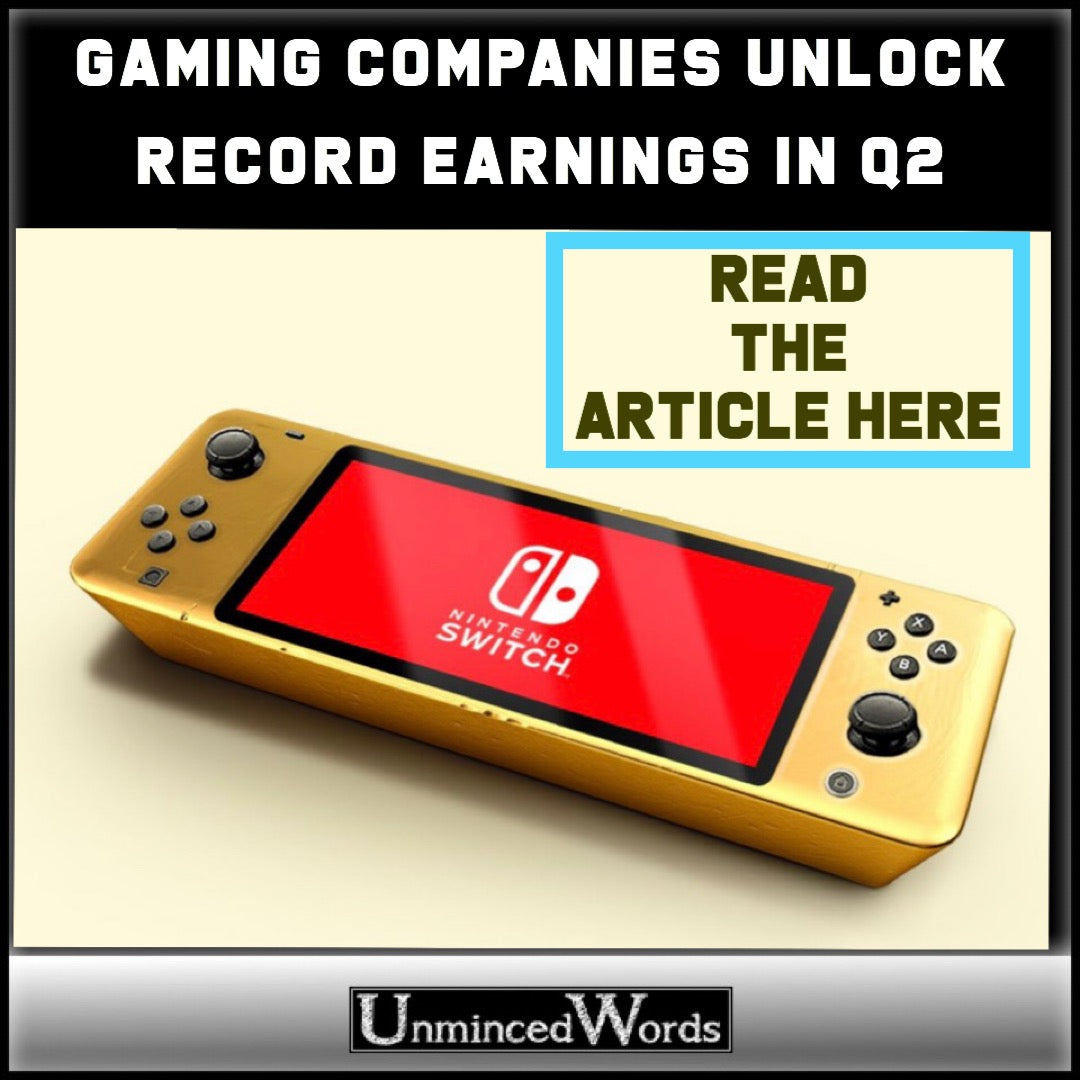 Gaming Companies Unlock Record Earnings in Q2