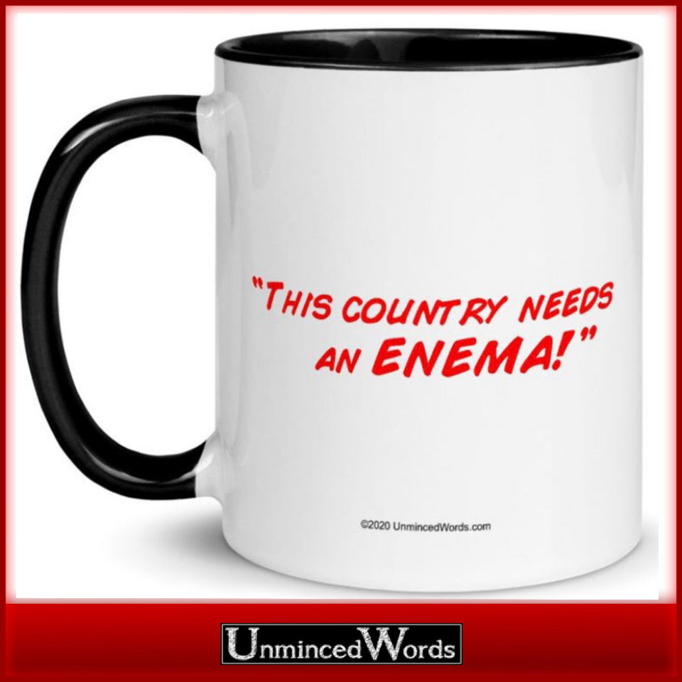 This country needs an enema!
