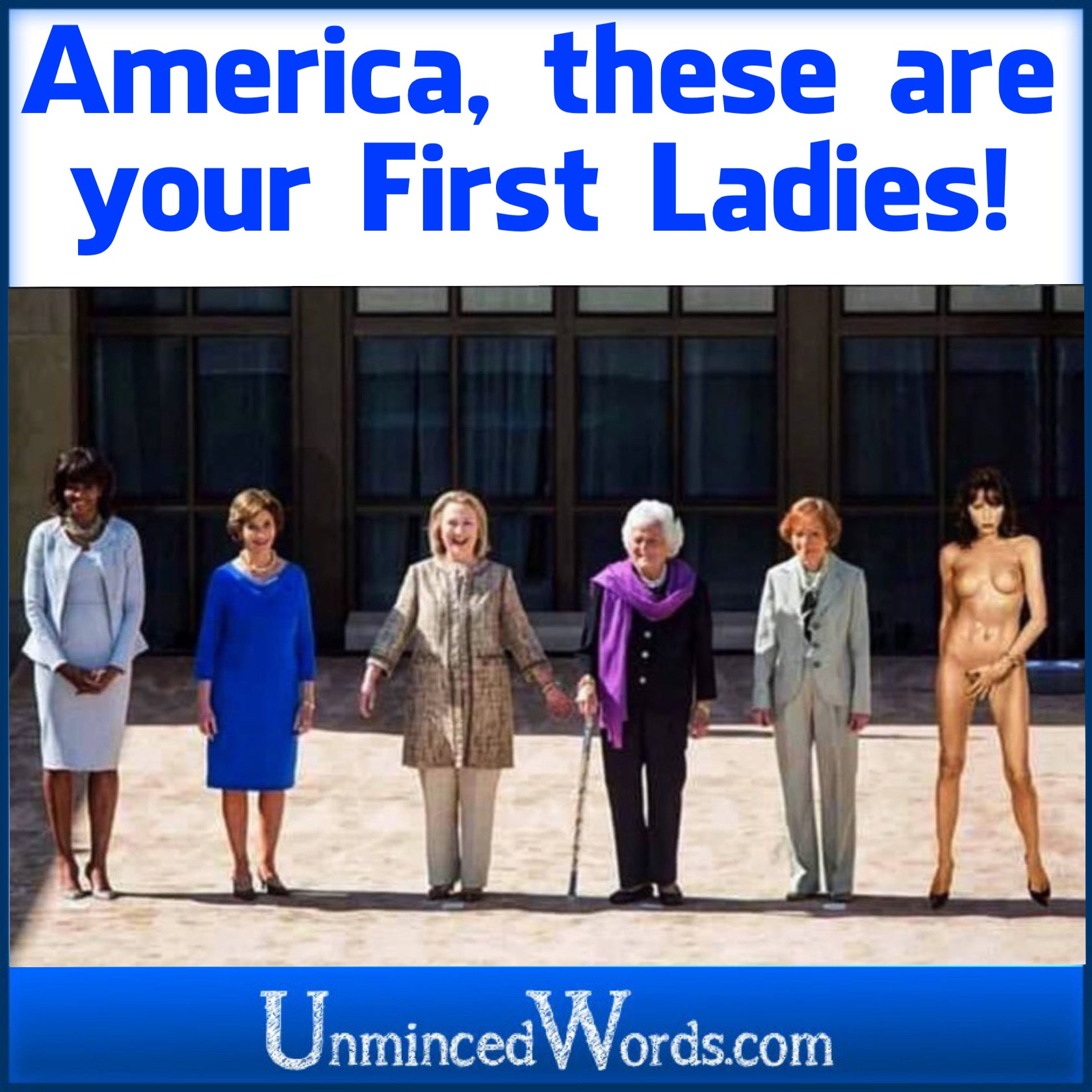 America, these are your First Ladies!