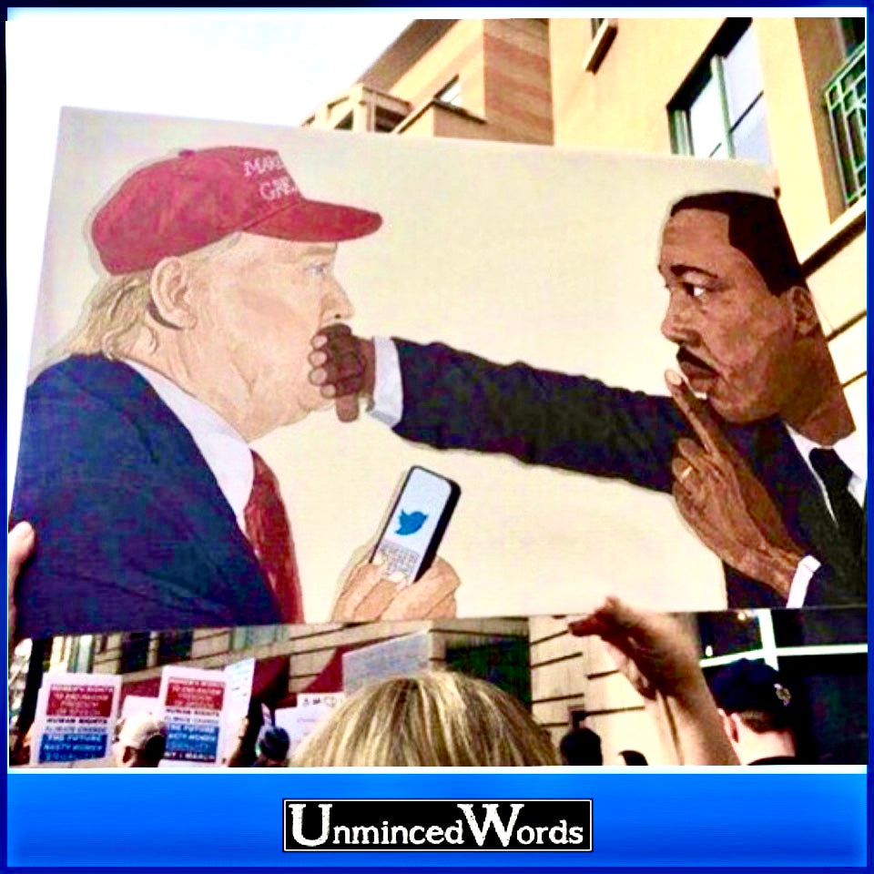 MLK silencing Trump is awesome