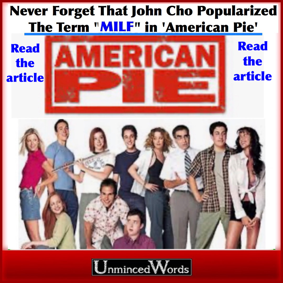 "Never Forget That John Cho Popularized The Term ""MILF"" in 'American Pie'"