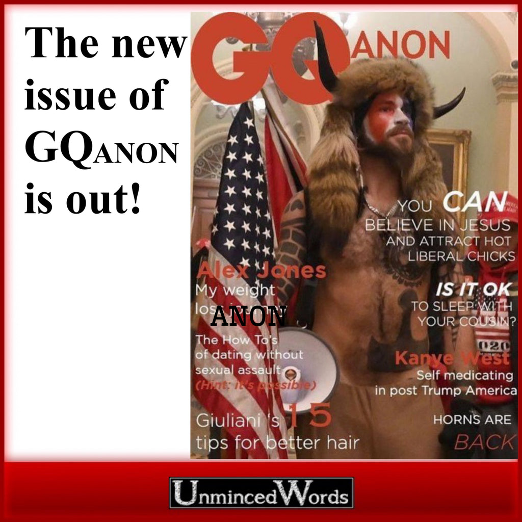 The new issue of GQanon is out!