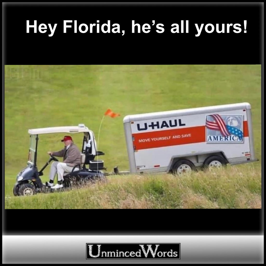Hey Florida, he's all yours!