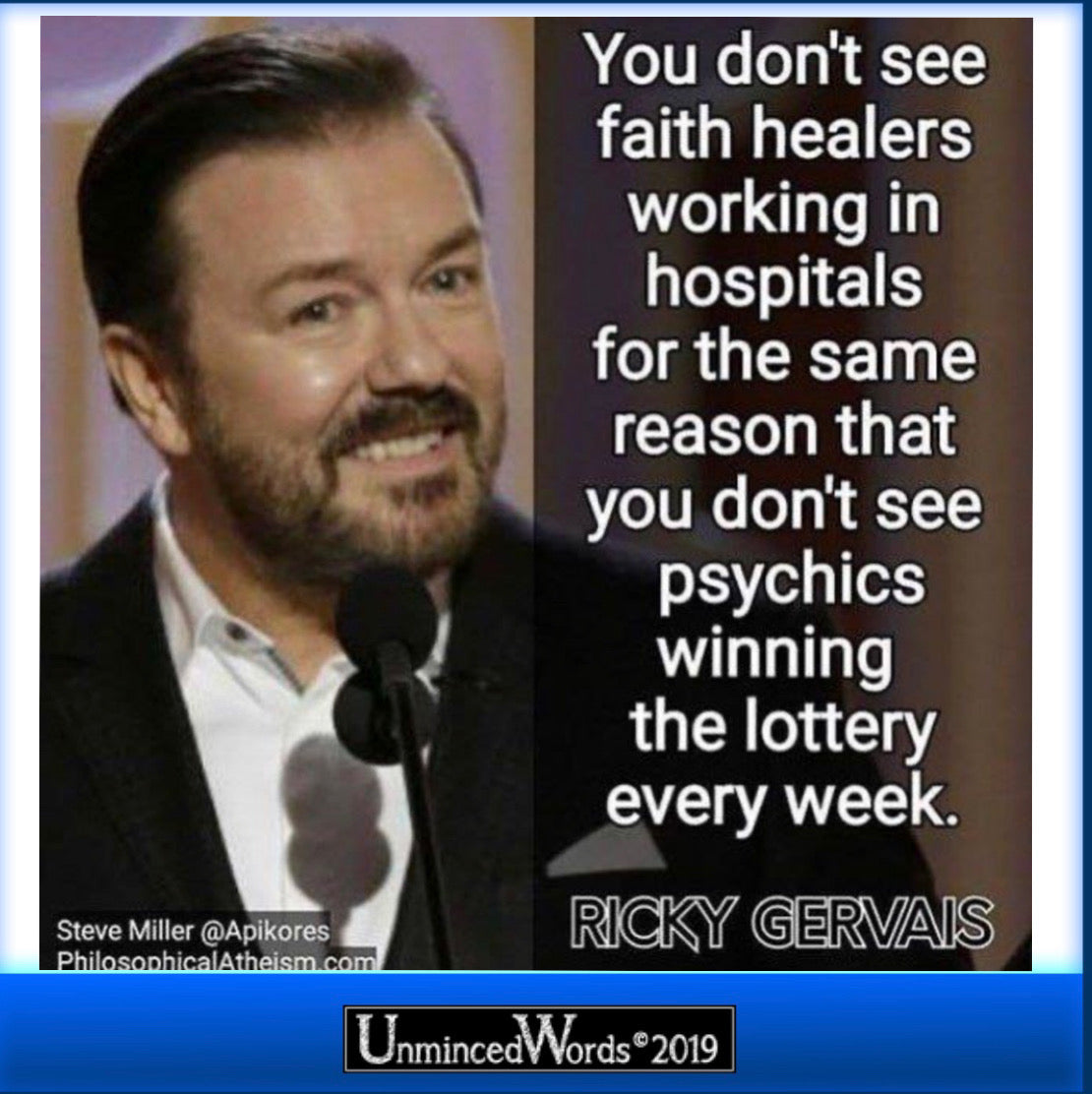 Ricky Gervais got this one right