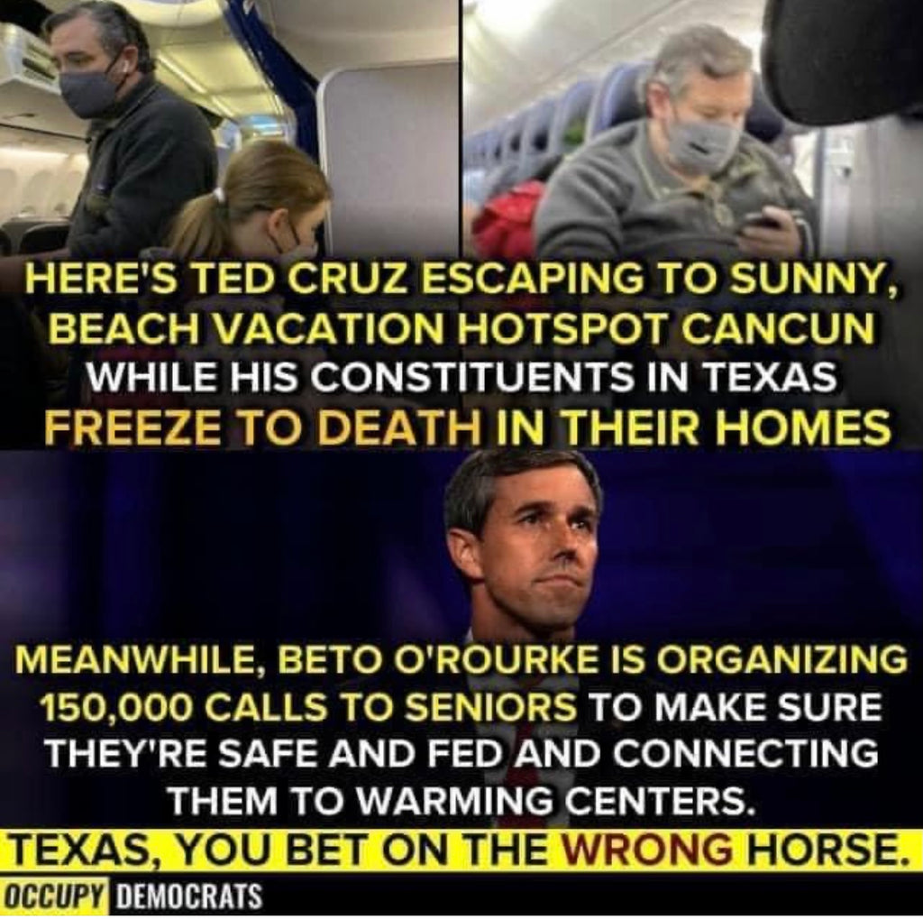 #BetoORourke is making #tedcruz look like such a Ted Cruz